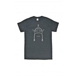 Černé tričko koruna